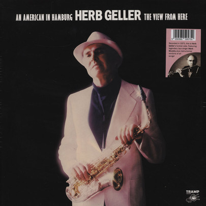 Herb Geller - An American In Hamburg (front cover)