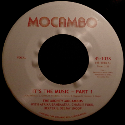 Mighty Mocambos - Its The Music